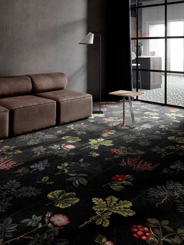 Botanic Garden, kolekcja Highline Nature, Ege Carpets
